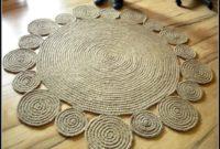Large Round Jute Rug