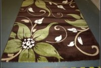 Lime Green And Brown Area Rugs