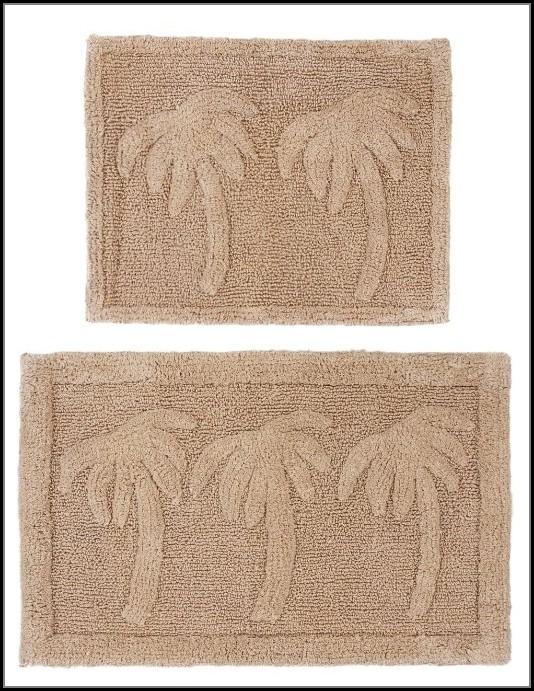 Palm Tree Bath Rug