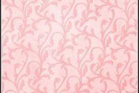 Pink Damask Area Rug