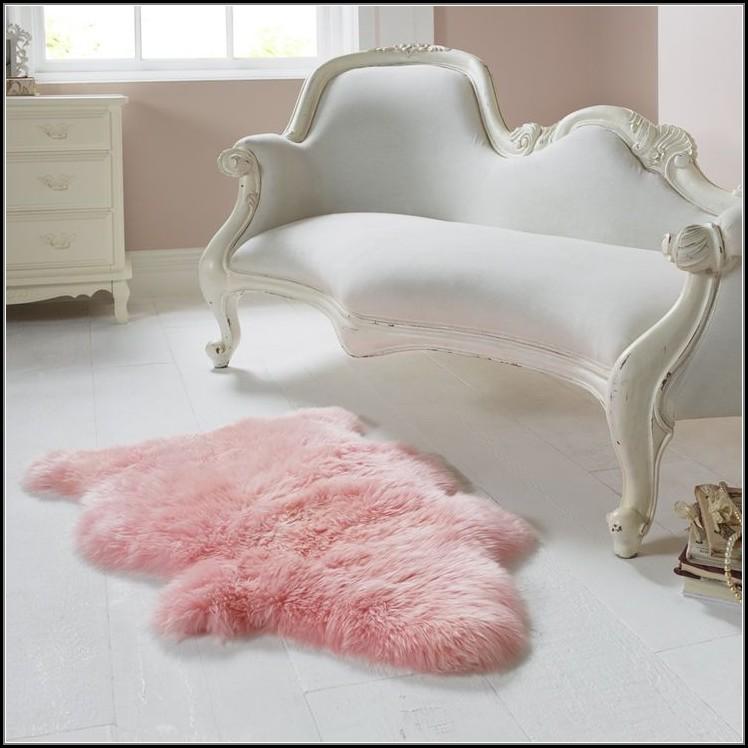 Pink Sheepskin Rug Uk