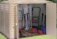 Plastic Outside Storage Sheds