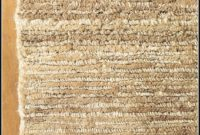 Pottery Barn Cut Pile Jute Rug