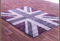 Purple Union Jack Rug