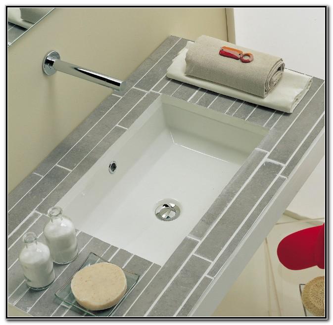 Rectangle Undermount Bathroom Sink