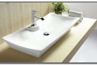 Rectangular Vessel Bathroom Sinks