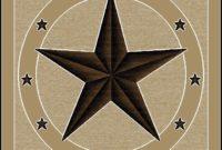 Rustic Texas Star Rugs