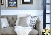 Sheepskin Rug On Sofa