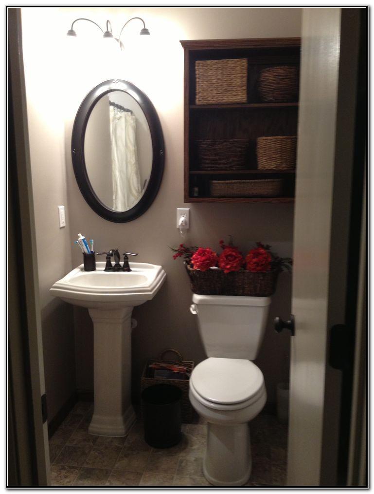 Small Bathroom Pedestal Sink Ideas