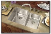 Small Double Bowl Undermount Kitchen Sink