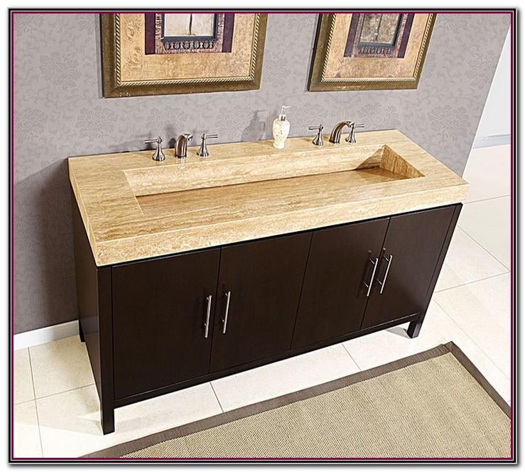Small double vanity bathroom sinks sink and faucets - Small double sink bathroom vanities ...