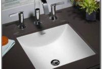 Small Undermount Bathroom Sinks