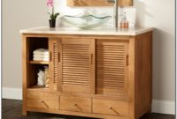 Small Vessel Sink Cabinet