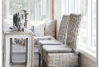Small Wicker Sunroom Furniture