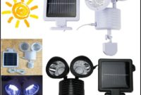 Solar Powered Lights For Shed