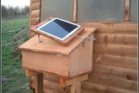 Solar Powered Shed Light With Timer