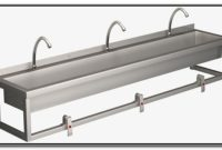 Stainless Steel Commercial Sinks Troughs