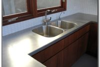 Stainless Steel Countertop With Sink