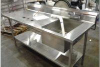 Stainless Steel Industrial Sinks Used