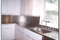 Stainless Steel Kitchen Counter With Sink