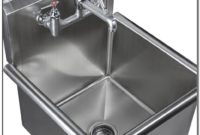 Stainless Steel Mop Sink Faucet