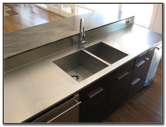 Stainless Steel Sink And Countertop Combo Sink And Faucets Home