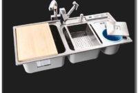 Stainless Steel Sinks Triple Basin
