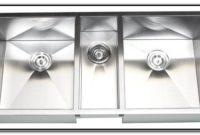 Stainless Steel Sinks Triple Bowl