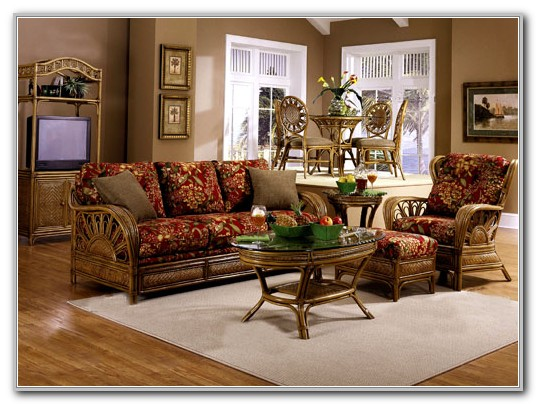 Sunroom Wicker Furniture Sets