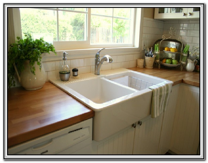 Top Mount Farmhouse Sink Sink And Faucets Home Decorating Ideas
