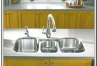 Triple Bowl Kitchen Sink Drop In