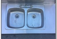 Used Stainless Steel Sink And Counter
