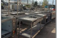 Used Stainless Steel Sinks