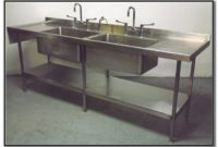Used Stainless Steel Sinks And Tables