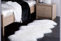 White Sheepskin Rug 3x5