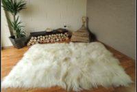 White Soft Shaggy Rug