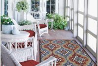 White Wicker Sunroom Furniture