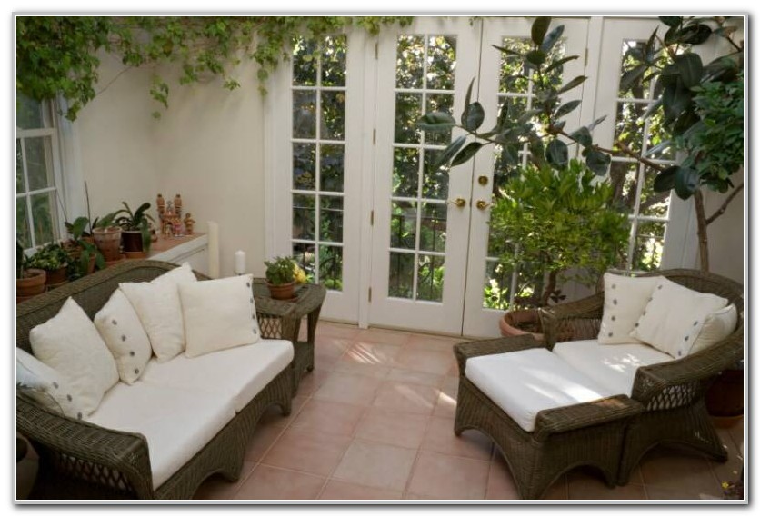 Wicker Furniture For A Sunroom Sunrooms Home Decorating Ideas