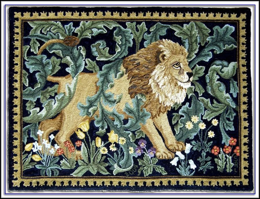 William Morris Rug Hooking Patterns Rugs Home Decorating