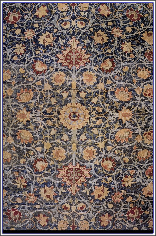william morris rugs reproductions