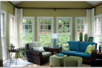 Window Treatment For Sunroom
