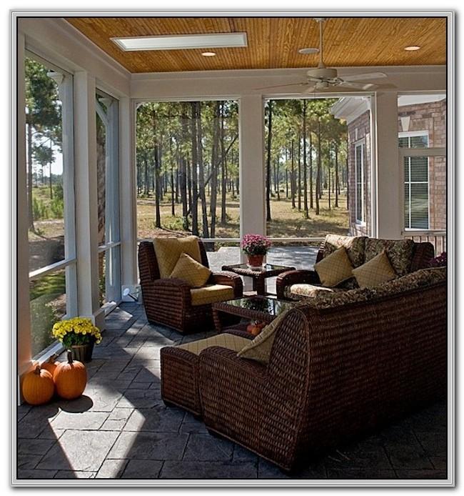 Wood Indoor Sunroom Furniture