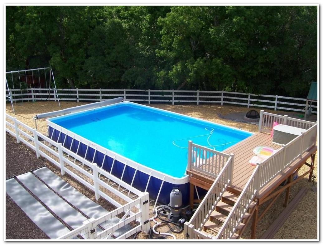 Above Ground Oval Pool Deck Designs Decks Home