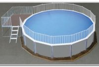 Above Ground Pool Deck Fence