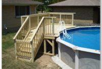Above Ground Pool Deck Framing Plans