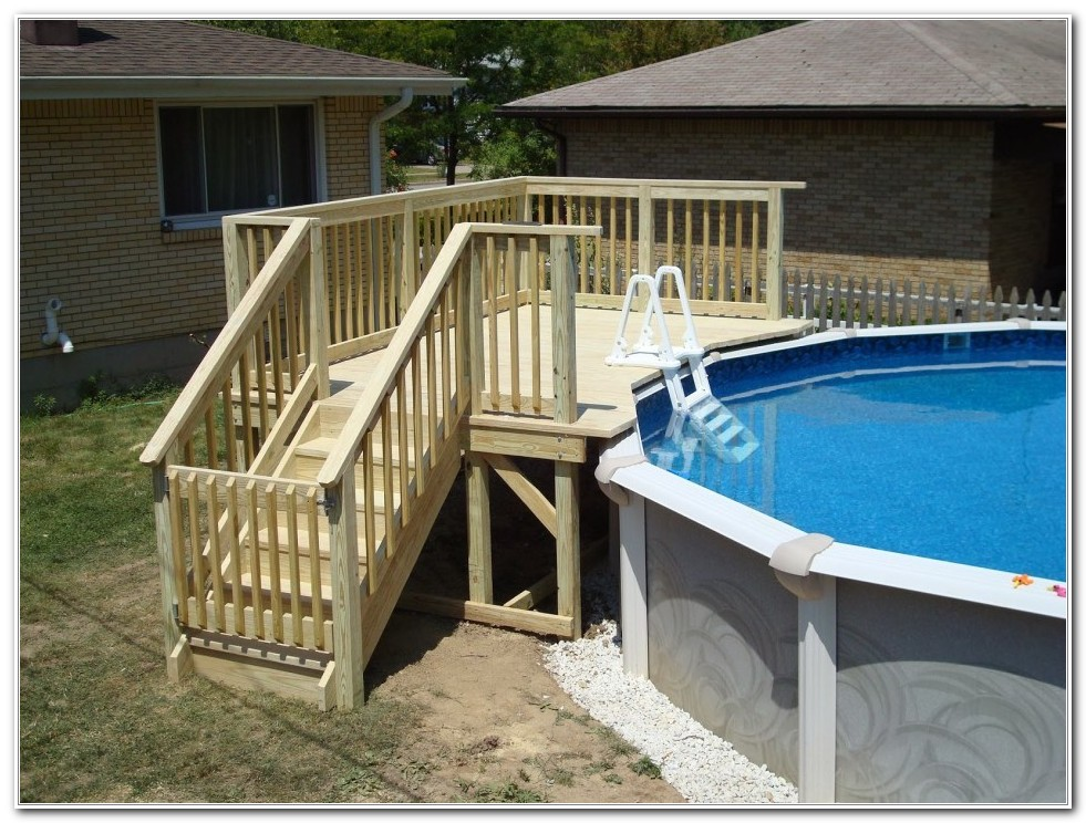 above ground pool deck framing plans decks home decorating ideas kvqv2kqq2z. Black Bedroom Furniture Sets. Home Design Ideas