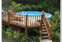 Above Ground Pool Deck Kits