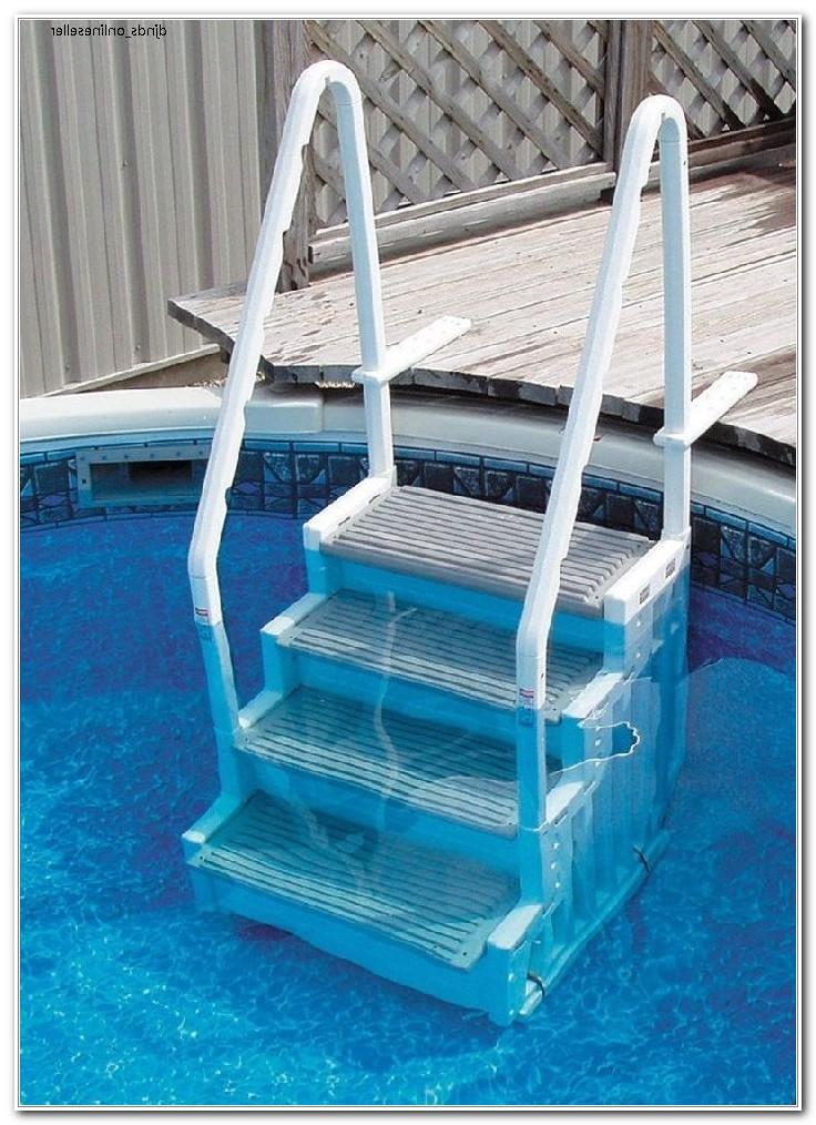 Above Ground Pool Deck Ladder