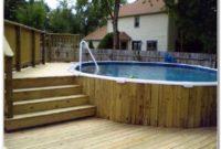 Above Ground Pool Deck Plans Online