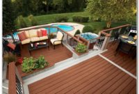 Above Ground Pool With Deck Ideas